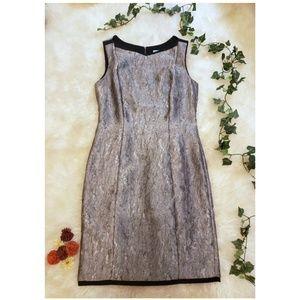 ANTONIO MELANI Silver Sheath Dress